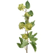 Artificial Flower Hop Spray Green