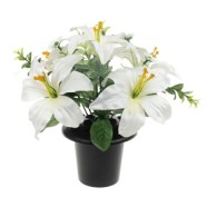 Grave Arrangement Tiger Lily 29cm