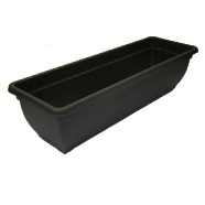 Garden Planter Winchester Window Box 46cm (Ebony)