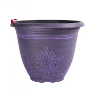 Garden Planter Laurel Round 30cm (Wisteria Purple)