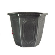 Garden Planter Estate Hexagon 30cm (Silver)