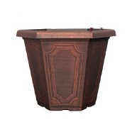 Garden Planter Estate Hexagon 30cm (Copper)