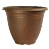 Garden Planter Laurel Round 30cm (Brushed Penny)