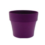 Garden Planter Euro Pot Round 25cm (Grape)