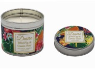 Candle In A Tin Wild Fig And Cassis Noir 8cm