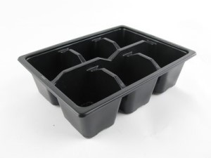 Plant Pot 6 Cell Pack Of 10