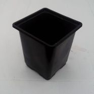 Plant Pot 9cm Square USED ( Pack Of 10)
