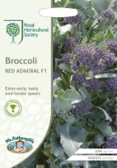 Broccoli Red Admiral F1 Sprouting Seeds