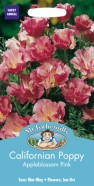 Californian Poppy Apple Blossom Pink Seeds