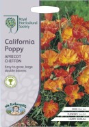 Californian Poppy Apricot Chiffon Seeds