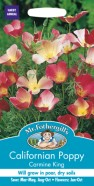 Californian Poppy Carmine King Seeds