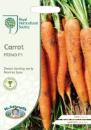 Carrot Primo F1 Seeds