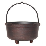 Garden Planter Cauldron 25cm (Copper)