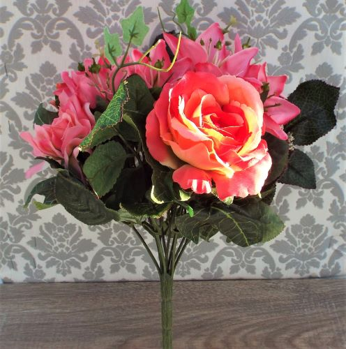 Artificial Pink Luxury Bouquet