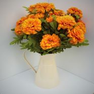 Artificial Marigold Gift Arrangement