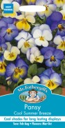 Pansy Cool Summer Breeze Seeds