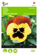 Pansy Red Wing Seeds