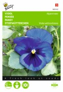 Pansy Swiss Giant Blue Seeds
