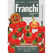 FR. Chilli Pepper Peper Peperone Piccante Calabrese Seeds