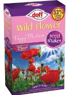 Wildflower Poppy Mix 300g Doff Plus 33% Free