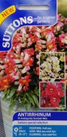 Antirrhinum Antiquity Sunset Mix F1 Seeds