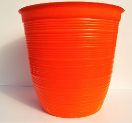 Planter Round Bellagio Orange 30cm