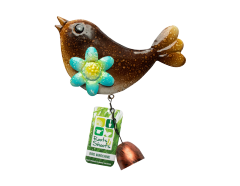 Wind Chime Brown Bird