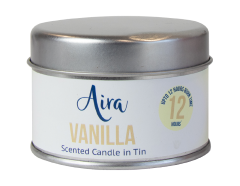 Candle Scented Tin Vanilla