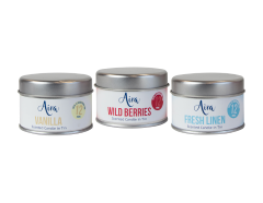 Candle Scented Tin 3 Pack