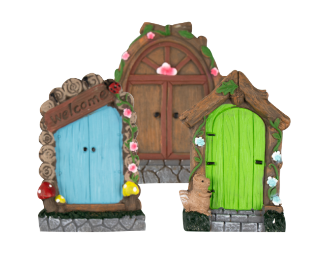 Fairy Door Set Of 3