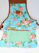 Apron With Rose Print
