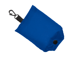 Shopping Bag Fold Away Blue