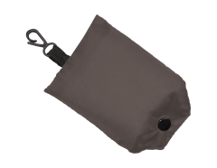 Shopping Bag Fold Away Grey