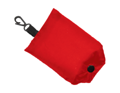 Shopping Bag Fold Away Red
