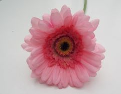 Artificial Gerbera Baby Pink Single Stem