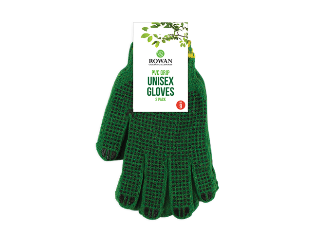 Gloves Non Slip Unisex 2 Pack