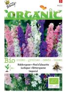 Larkspur Giant Imperial ORGANIC Seeds