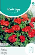 Geranium Mustang F1 Red Seeds