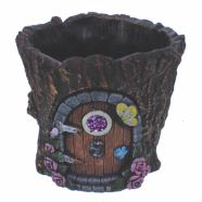 Planter Round Pot Fairy Door 15cm