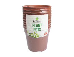Plant Pot 10 Pack Brown
