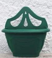 Planter Venetian Wall Green