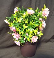Artificial Potted Plant Pink