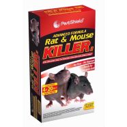 Rat And Mouse Killer 4 x 20g