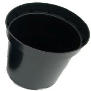 Plant Pot 2 Litre Round  (Pack Of 5)