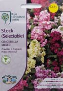 Stock Cinderella Mix Seeds