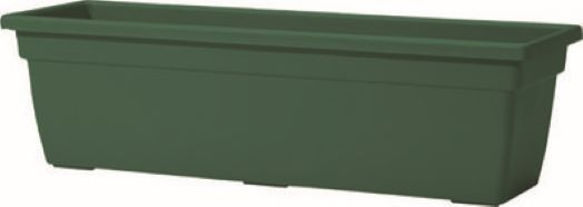 Window Box Leonardo Green 38cm