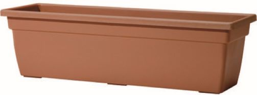 Window Box Leonardo Terracotta 38cm